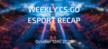 Revisão semanal do CSGO Esporte