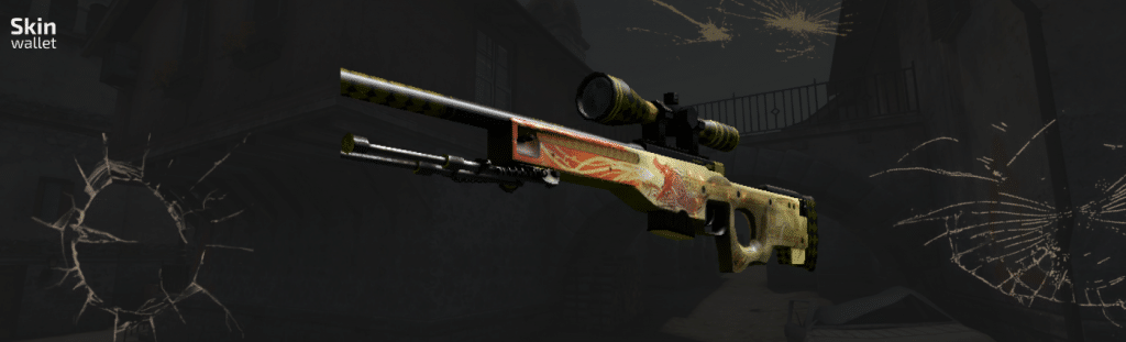 ak47 dragon lore csgo skin