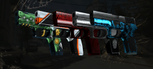 P250 CS:GO skins - the premium eco round fashion