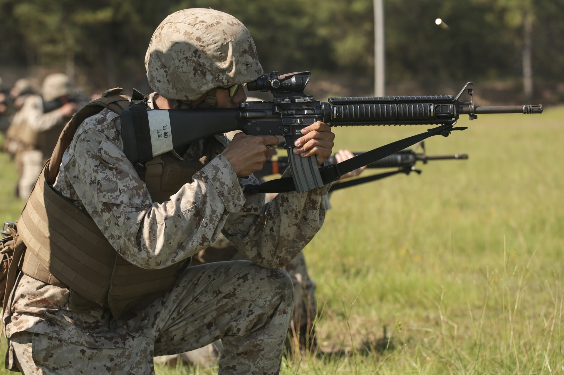 us marine with m4a4