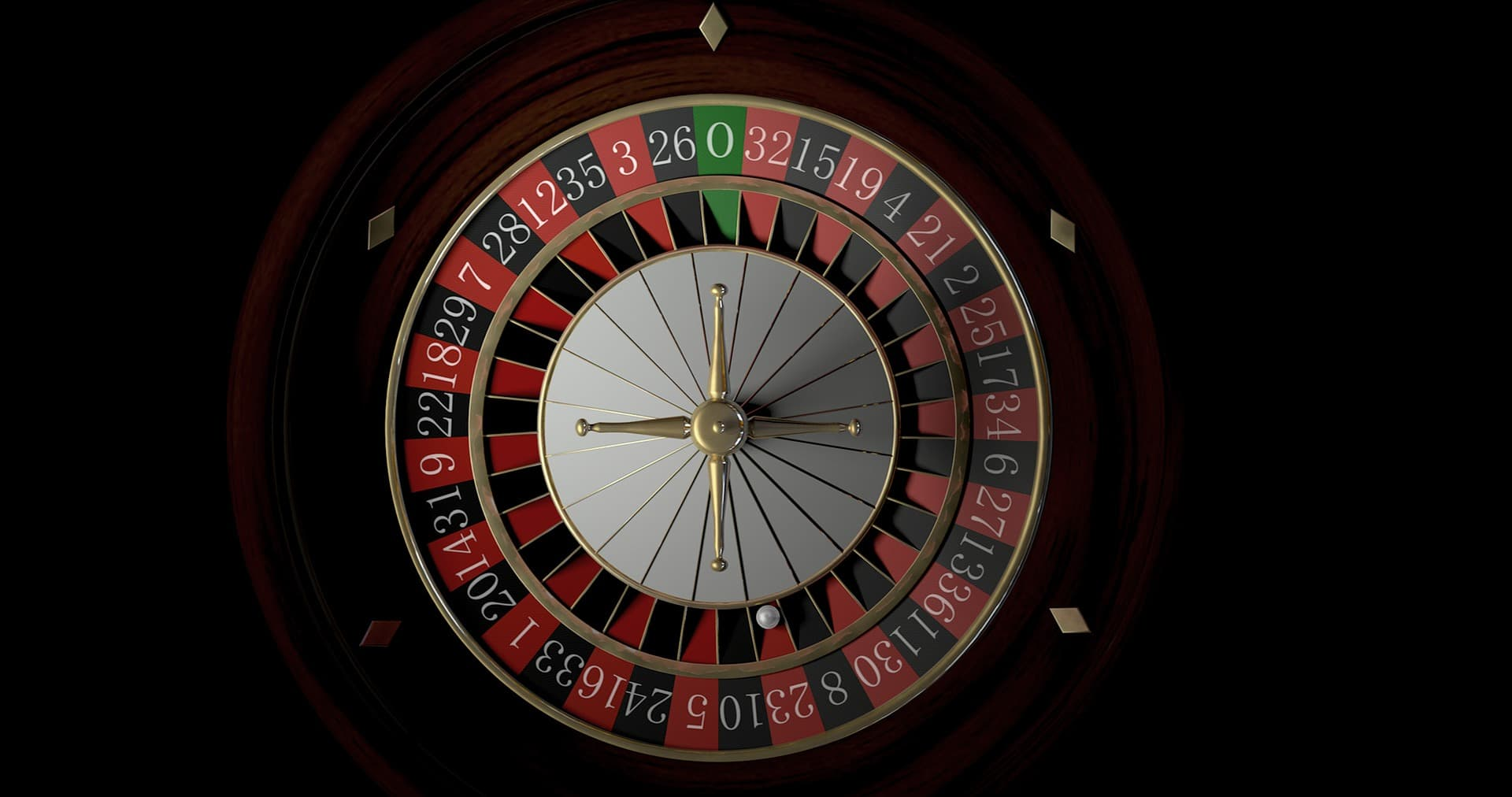 Roulette from top