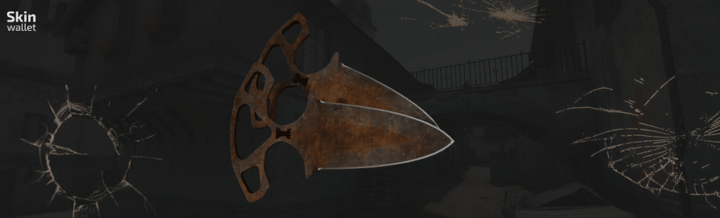 shadow daggers rust coat csgo skin