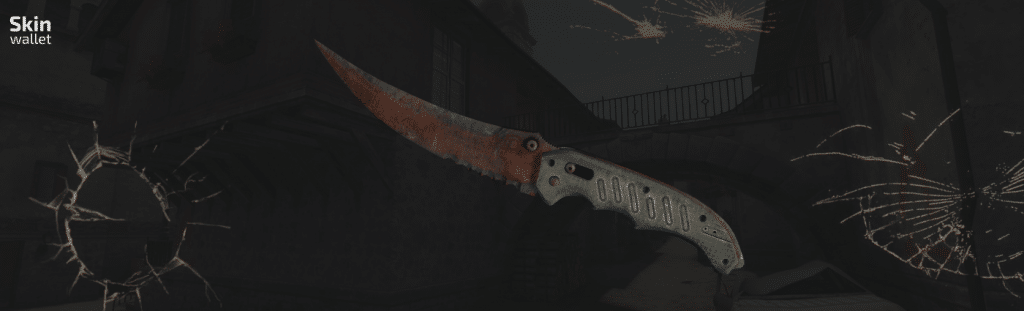 flip knife rust coat csgo skin