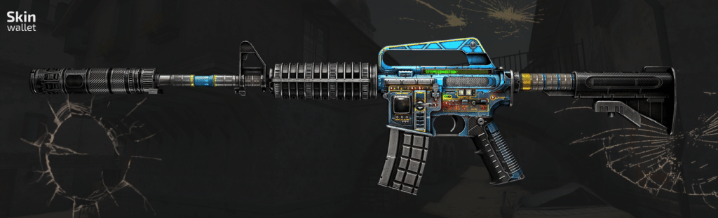 M4A1S control panel csgo skin