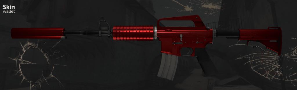 M4A1S hot rod csgo skin