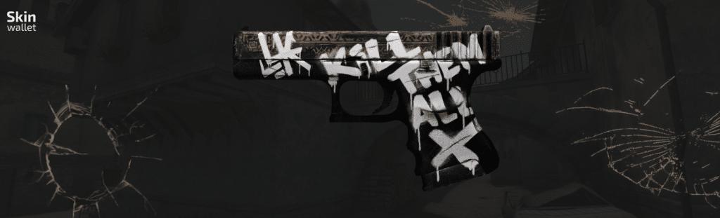Glock Wasteland Rebel CSGO skin