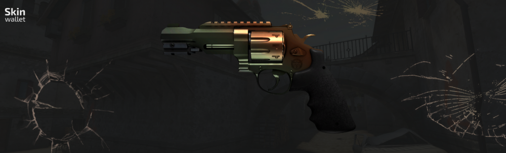 r8 revolver amber fade csgo skin