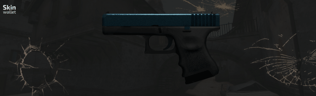 Glock Twilight Galaxy CSGO skin