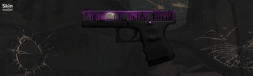 Glock Moonrise CSGO skin