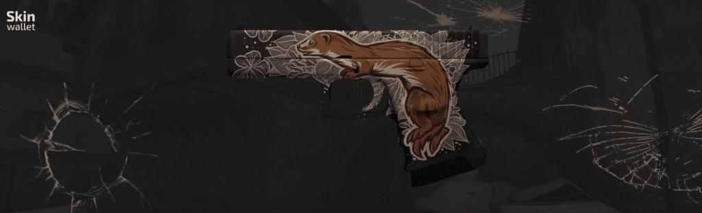 Glock Weasel CSGO skin