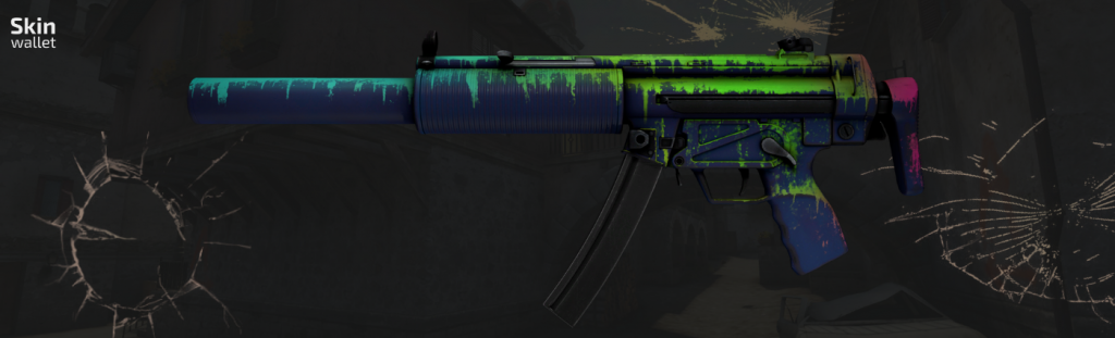 mp5 phosphor csgo skin
