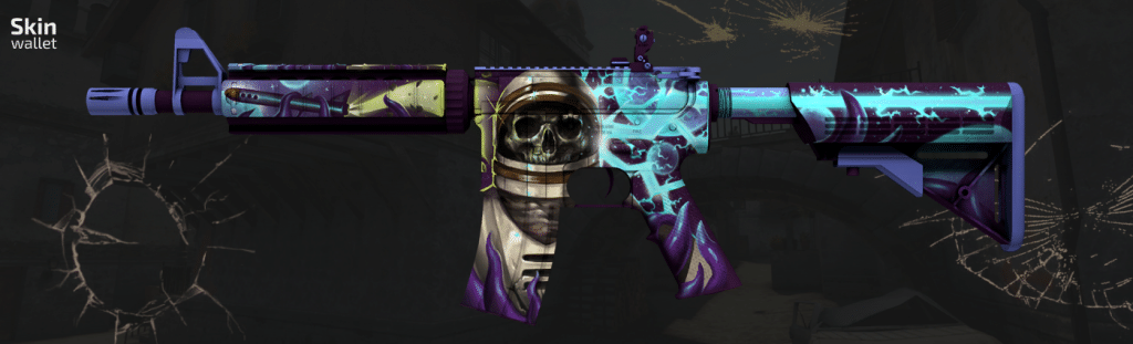m4a4 desolate space csgo skin