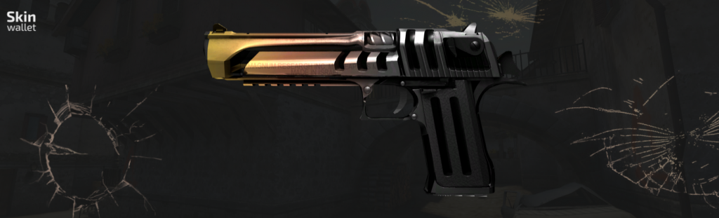 desert eagle light rail csgo skin