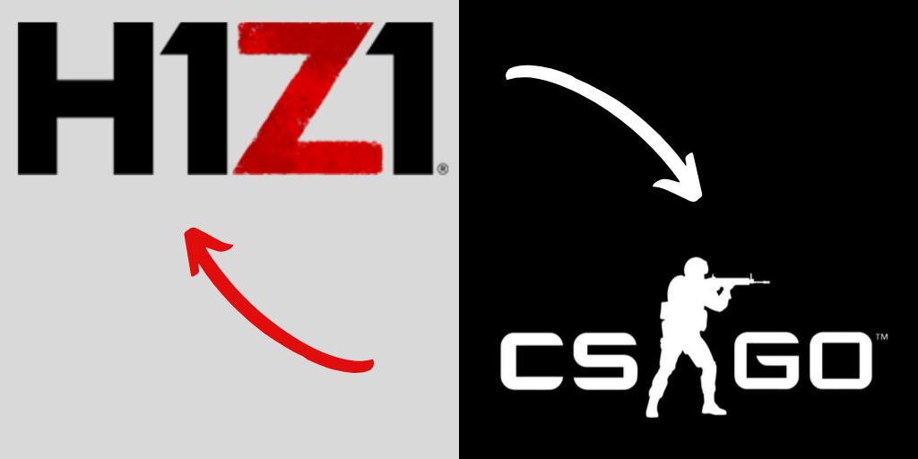 trade h1z1 for csgo skins