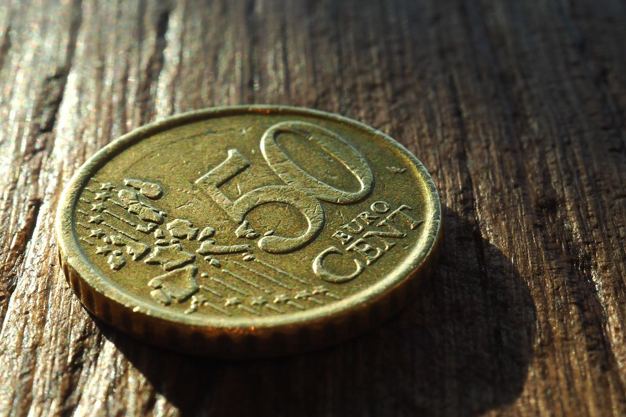50 euro cents coin