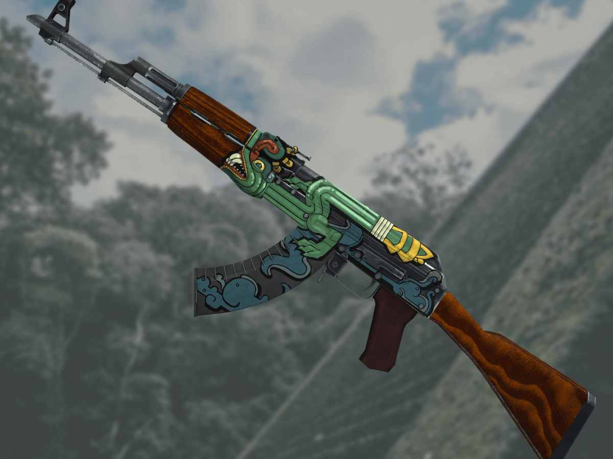 ak47 fire serpent csgo skin