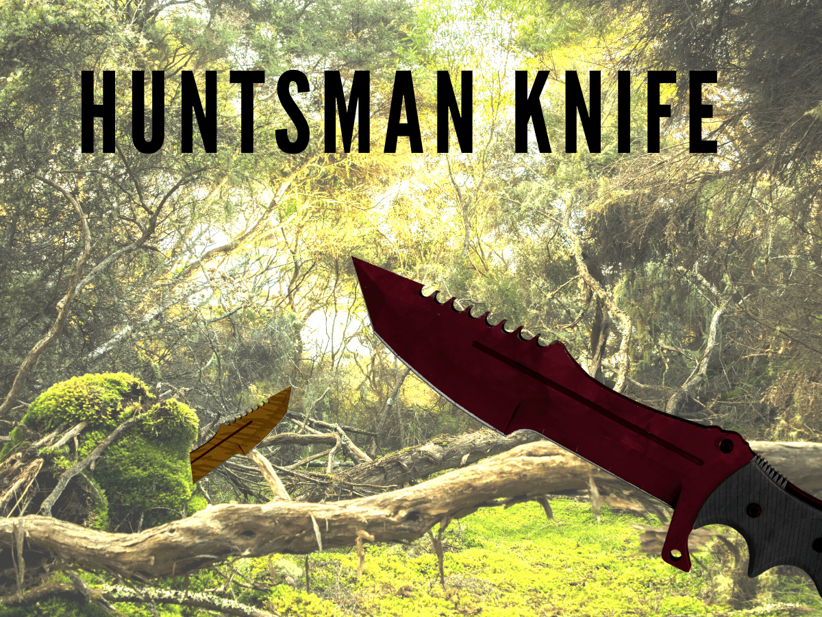 huntsman knife csgo skin cover photo