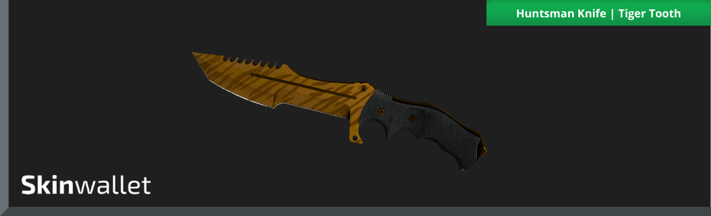 Huntsman Knife Tiger Tooth csgo skin