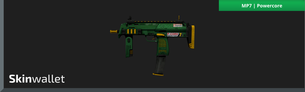CSGO Green Skins MP7 | Powercore