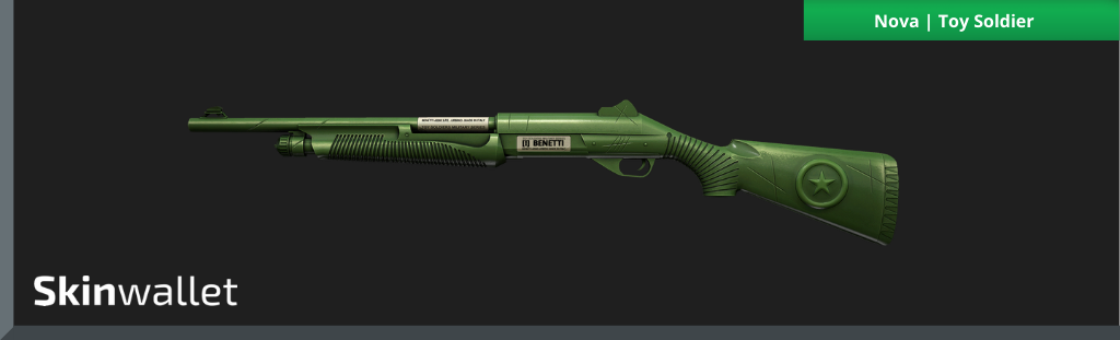 CSGO Green Skins Nova Toy Soldier