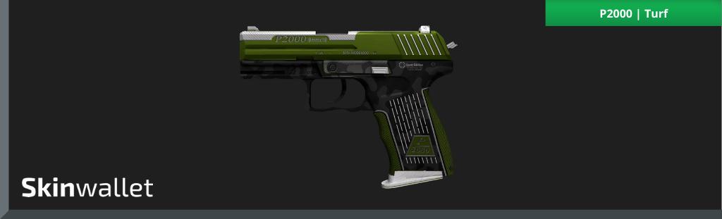CSGO Green Skins P2000 Turf