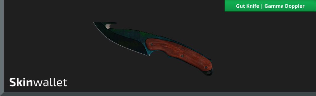 csgo gut knife gamma doppler skin