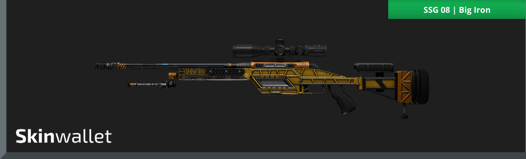 csgo ssg 08 big iron skin