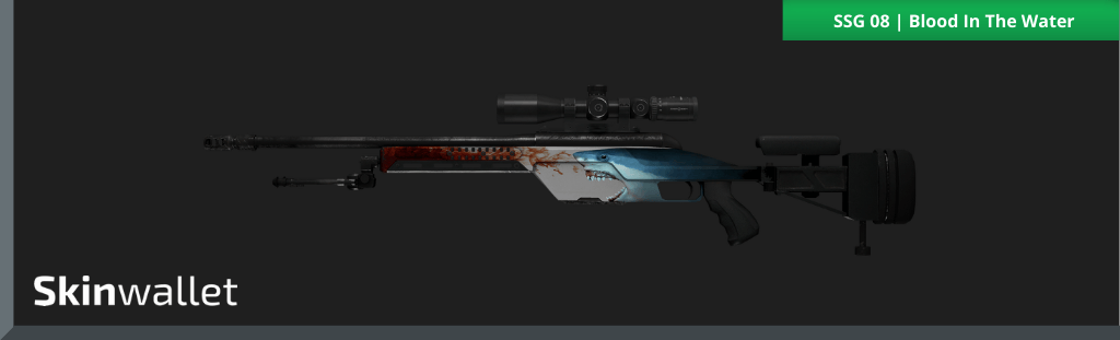 csgo ssg 08 blood in the water skin