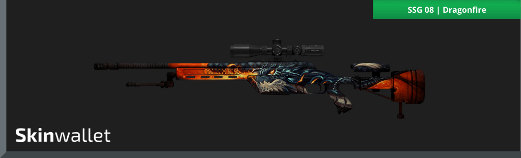 csgo ssg 08 dragonfire skin