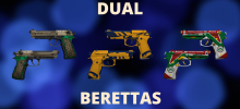 The OG Guns Akimbo: CSGO Dual Berettas Skins in 2020