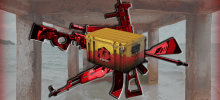 A Run-In with Danger Zone Case Skins in 2020