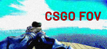 How broad can you look? Inspecting CSGO Field Of Vision