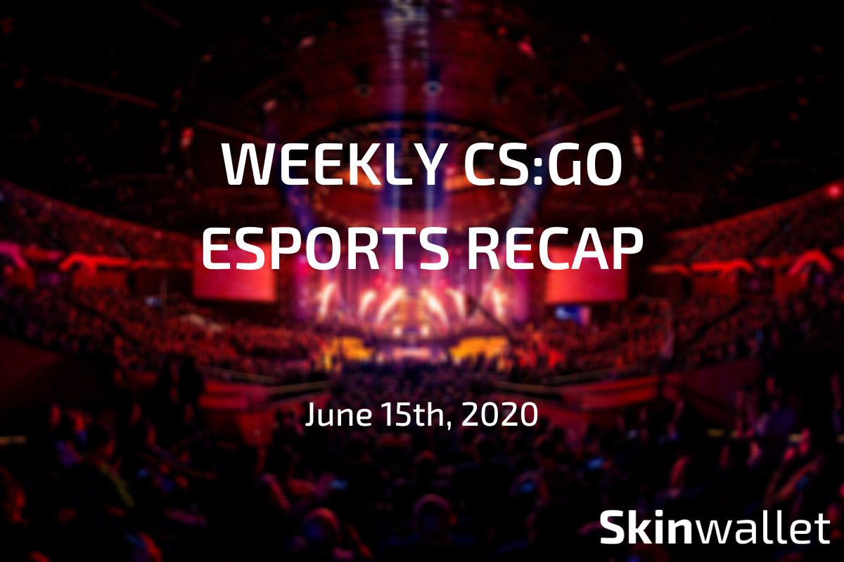 weekly csgo esports recap with skinwallet
