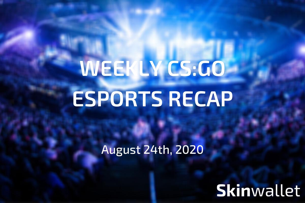 csgo weekly esports recap 2020