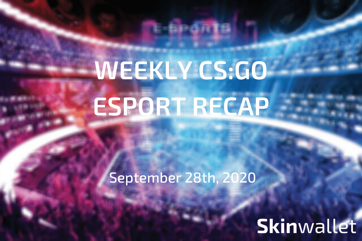 csgo weekly esports recap