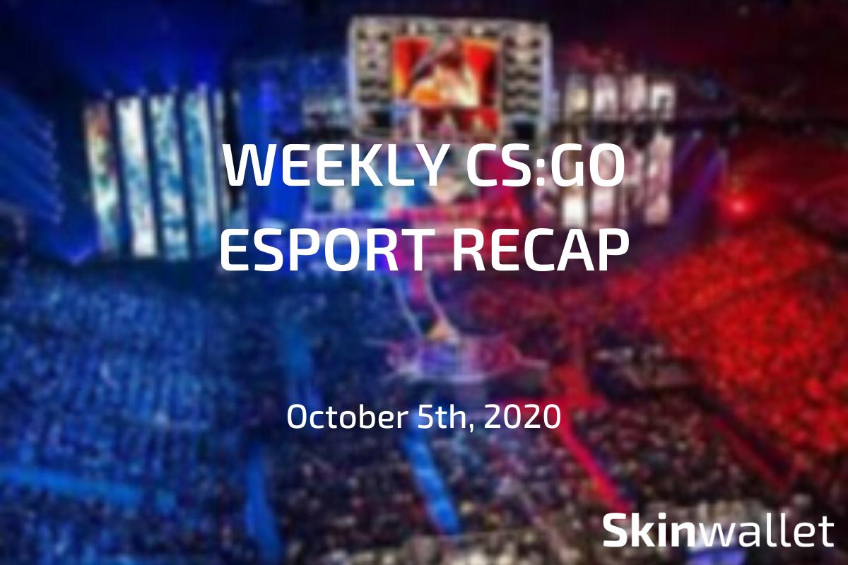 csgo esports recap