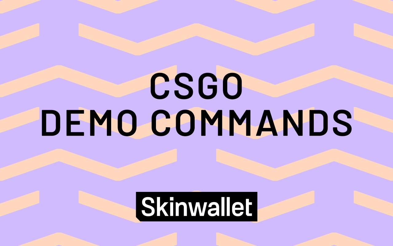 CSGO Demo commands