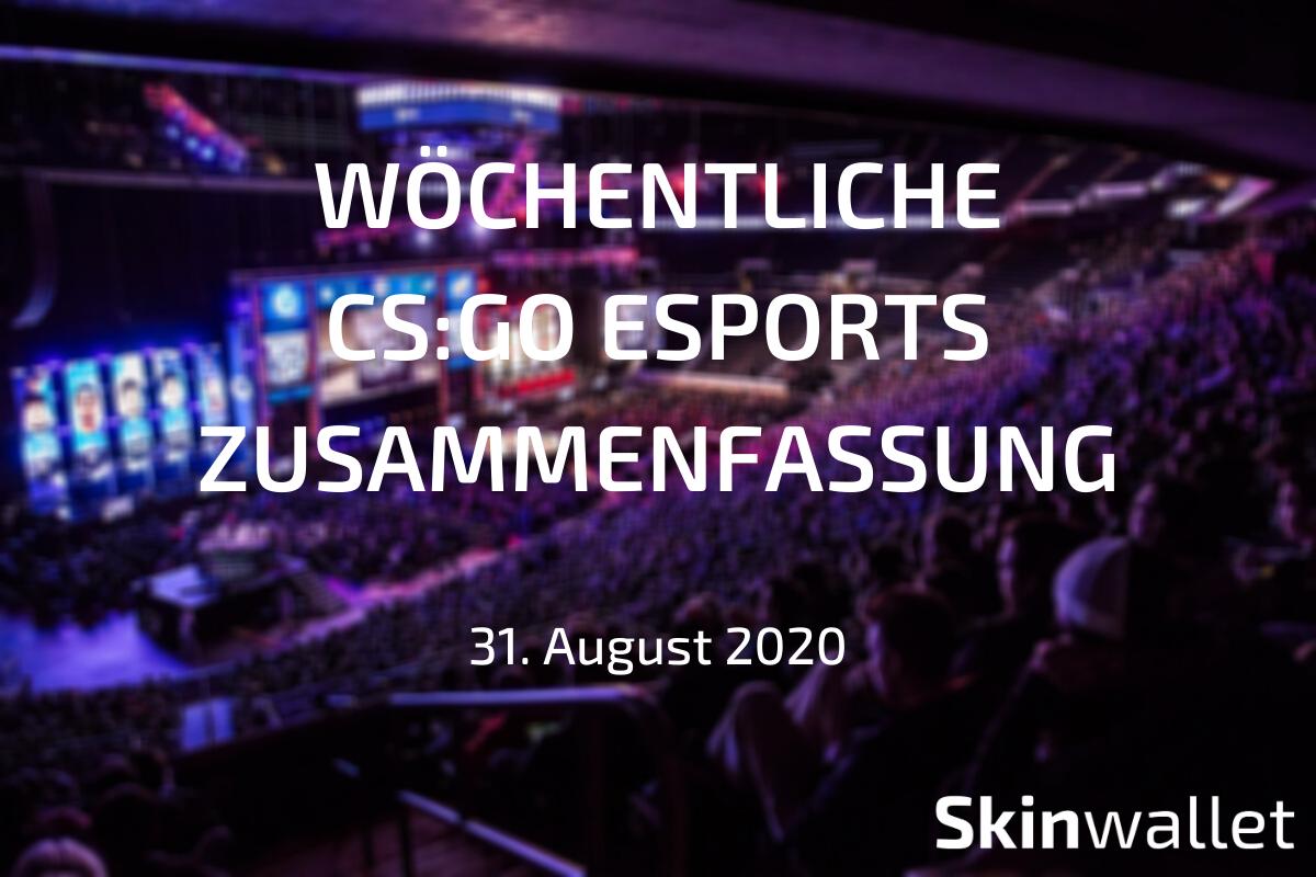 csgo esports recap 2020
