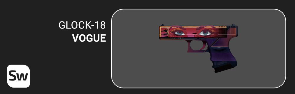 glock 18 vogue csgo skin