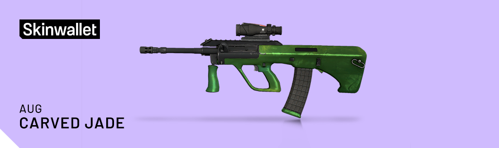 aug carved jade skin cs go operation broken fang