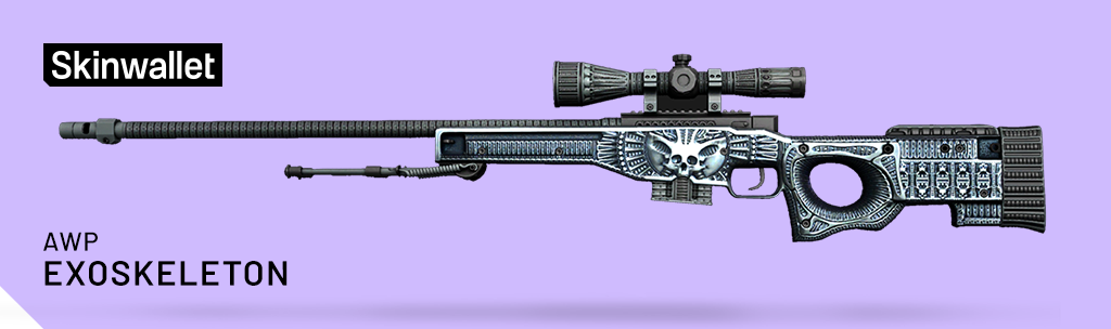 awp exoskeleton skin cs go operation broken fang