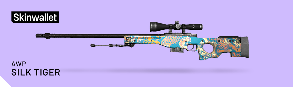 awp silk tiger skin cs go operation broken fang