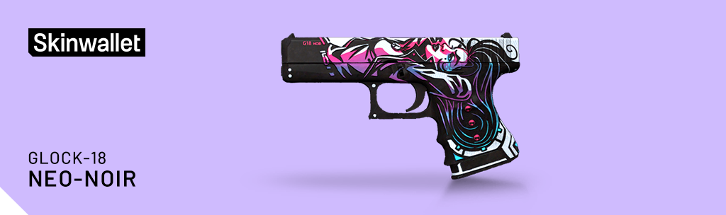 glock 18 neo noir skin cs go operation broken fang