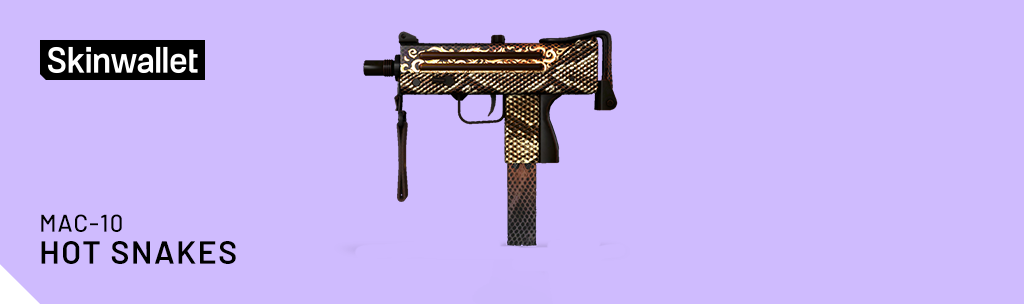 mac 10 hot snakes skin cs go operation broken fang