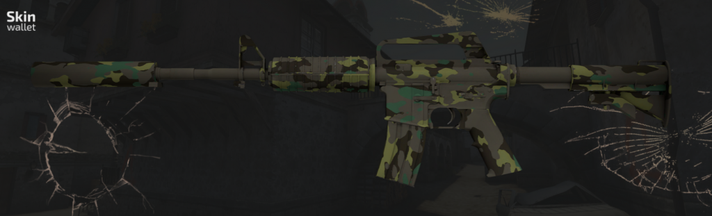 m4a1-s boreal forest skin cs go