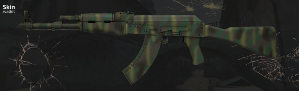 ak-47 jungle spray skin cs go