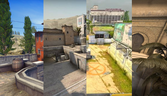 Map Collage CSGO 2020
