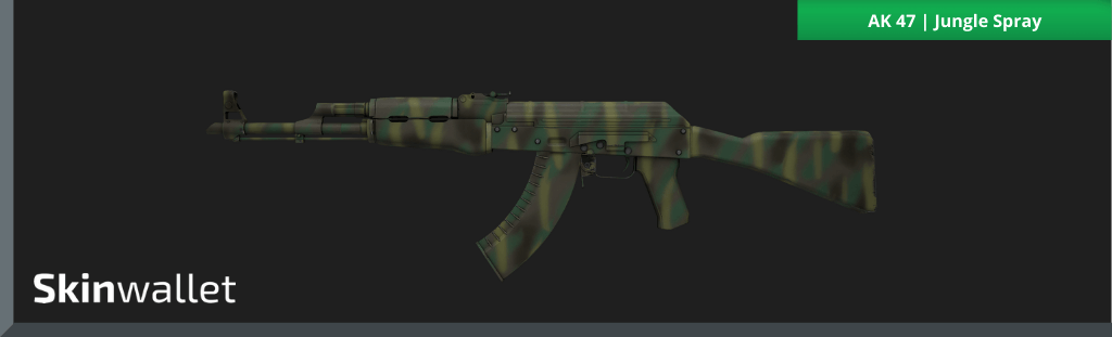 ak47 jungle spray csgo skin
