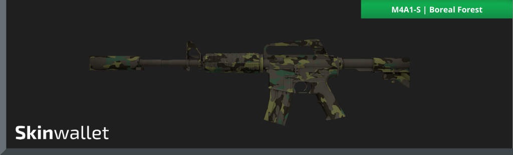 m4a1-s boreal forest csgo skin