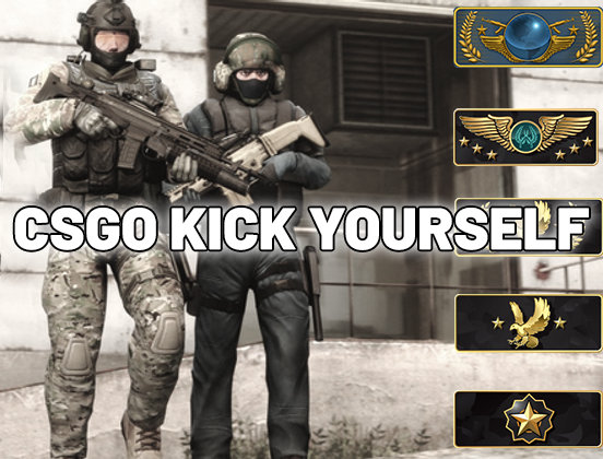 how to kick yourself in csgo